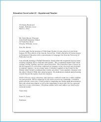 Terrific Elementary Teacher Cover Letter To Make Cover