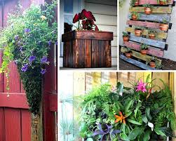 add some creative pallet planters easy diy home improvement projects
