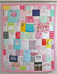 Best 25+ Baby clothes quilt ideas on Pinterest | Baby clothes ... & Baby clothing quilt - first year quilt made of all the cutest bits of your  fave Adamdwight.com