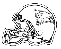 soccer team coloring pages football patriots page helmet new free printable america
