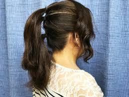 少ないピンでできるまとめ髪浴衣にぴったりな3段ポニテから作る三つ
