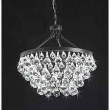 modern style glass crystal 5 light luxury antique bronze chandelier 19 hx17