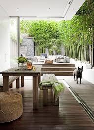 indoor outdoor living room. (image credit: erin michael) indoor outdoor living room
