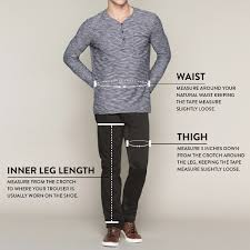 Hallensteins Size Chart Size Guide To Tarocash Mens Clothing