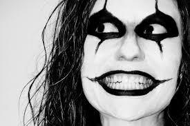 crow man costume makeup free photo