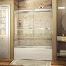 shower doors sliding. Perfect Shower DreamLine Essence 56in To 60in W Brushed Nickel BypassSliding Bathtub For Shower Doors Sliding
