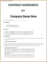 Business Partnership Agreement Template Free Small Contract 8 ...