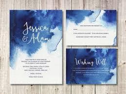 Wedding Invitations Watercolor 33 Watercolor Wedding Stationery Ideas To Get Inspired Weddingomania