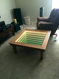 infinity coffee table but when its on epic uk mirrored mirror top