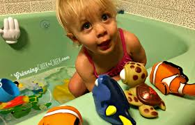 Finding Nemo Bath Toys with #TheFirstYears! - Grinning Cheek to Cheek