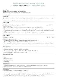 Curriculum Vitae Vs Resume Sample Curriculum Vitae Versus Resume