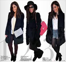 3 ways to wear a faux fur jacket