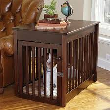 Wooden Dog Crate Furniture Wooden Dog Crate Orvis