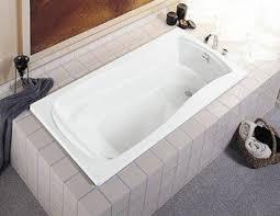 Kohler K-1242-0 Mariposa 5 Foot Drop In Soaking Tub with Reversible Drain -  White
