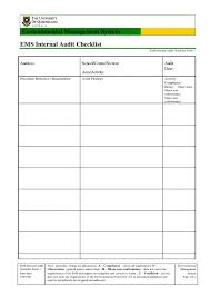 Internal Dit Schedule Template Excel Sample Checklist