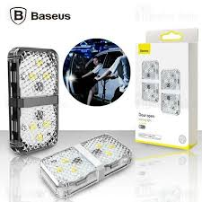 <b>Baseus car door</b> open warning LED light black (CRFZD-01): Buy ...