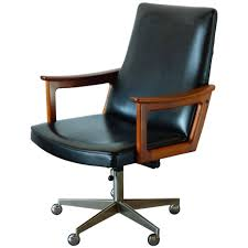 Mid Century Modern Office mid century modern danish teak desk chair in the style of arne 4996 by xevi.us