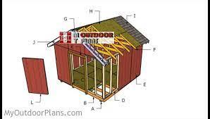 12x12 shed roof plans myoutdoorplans