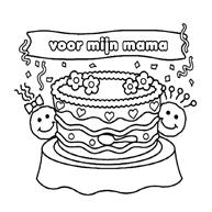 Kleurplaat Mama Is De Liefste Kleurplaatjecom