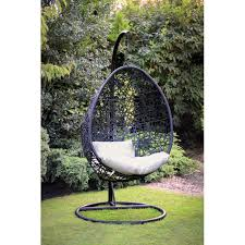 gorgeous outdoor egg chair on hanging