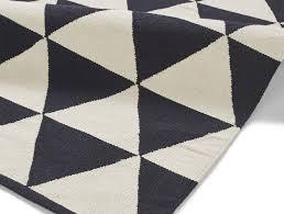 manhattan mh211a black white rug larger image