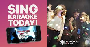 the all new stingray karaoke mobile app