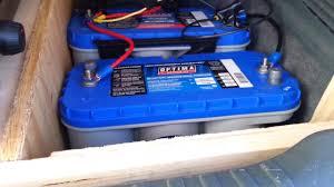 Solar Powered Mini Fridge Minivan Camper Setup With Solar Refrigerator Youtube
