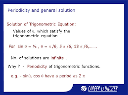 periodicity and general solution
