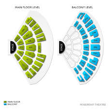 Rosemont Theatre Seating Chart With Seat Numbers 39 Bright Rosemont Theater Balcony View