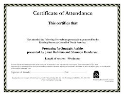 School Certificates Pdf Certificate Of Attendance Templates Blank Certificates Paper Sheet 9