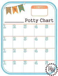 Free Printable Potty Charts Potty Training Chart Free Printable The Scrap Shoppe
