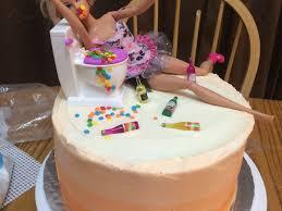 Adult Barbie Cake Cakecentralcom