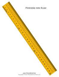 Printable Mm Ruler Tims Printables