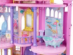Princess Bedroom Accessories Uk Disney Princess Ultimate Dream Castle Amazoncouk Toys Games