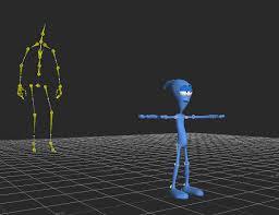 """Résultat de recherche d'images pour """"animation 3d squelette personnage"""""""