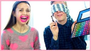 blindfolded makeup challenge with tyler oakley