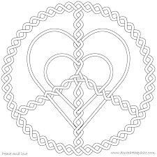 Small Picture Trend Peace And Love Coloring Pages 41 With Additional Coloring