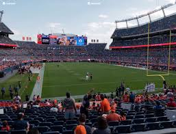 Broncos Stadium At Mile High Section 116 Seat Views Seatgeek
