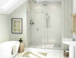 bypass shower door. 60 Frameless Shower Door Final Vigo In X 74 Bypass