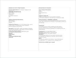 Reference Template For Resume | Nfcnbarroom.com