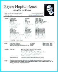 Musical Theater Resume Template Best Acting Resume Template Actor Resume Template Best Of Resume Theater
