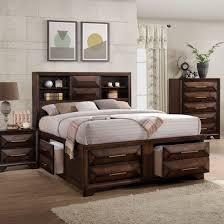 Wooden furniture bed design Wood Bed Frame Anthem Tobacco Pc Queen Bedroom Ashley Furniture Homestore Complete Bedroom Sets King Queen Twin More Badcock More