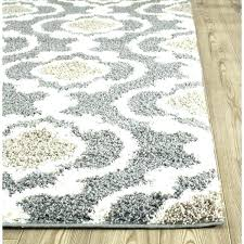blue grey area rug cream and all gray tan 8x10