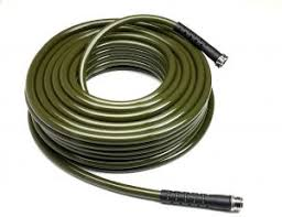 water right 600 series polyurethane drinking water safe garden hose 50 foot by 5 8 inch br ings olive green usa made