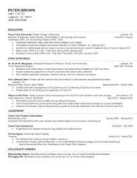 Resume Entry Level It Resume With No Experience