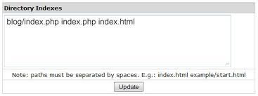 WordPress As Homepage (Directory Index) - Hostica.com