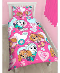 paw patrol bedding set new duvet quilt cover bed queen