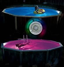 home  Color Aqua Luminator Ground Pool Light