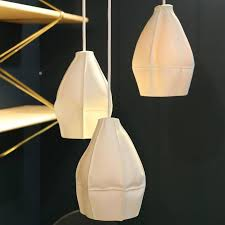 porcelain lighting. kawa pendant light cluster of three from souda modern porcelain lamp ceramic 2 lighting