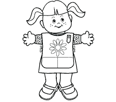 Daisy Girl Scouts Coloring Pages Homelandsecuritynews
